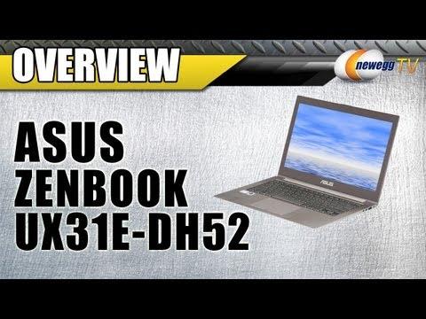 newegg-tv:-asus-zenbook-ux31e-dh52-ultrabook-overview