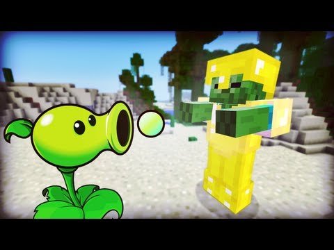 Minecraft PLANTS VS ZOMBIES MOD