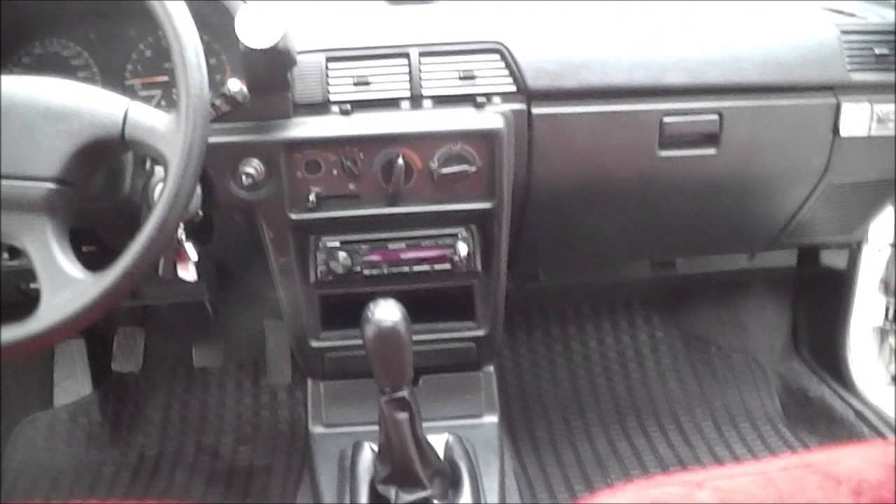 Mitsubishi Lancer Glx 1991 Interior Hd Youtube