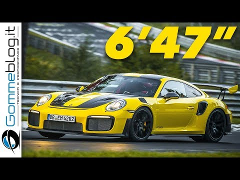 Porsche 911 GT2 RS Nurburgring WORLD RECORD Lap Time – INTERIOR Top Speed Sound