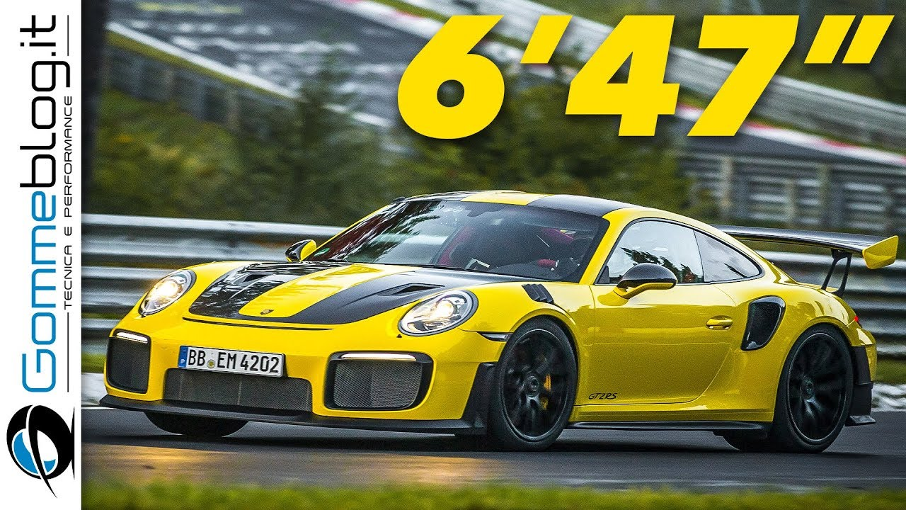 Porsche 911 Gt2 Rs Nurburgring World Record Lap Time Interior Top Sd Sound