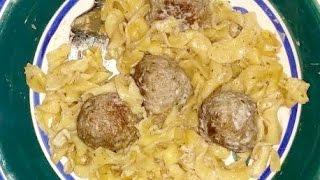Create Delicious Meatball Stroganoff - Diy Food & Drinks - Guidecentral