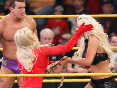 WWE NXT: Aksana & Goldust vs. Maryse & Ted DiBiase
