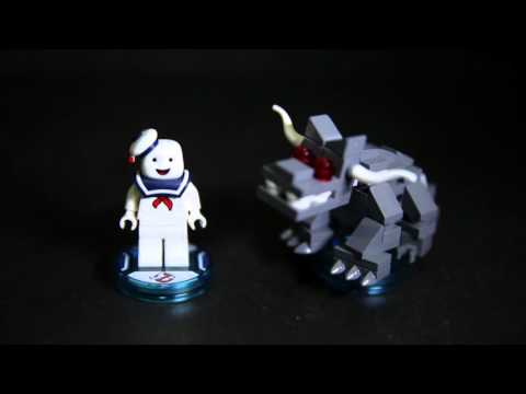 Lego 71233 Dimensions Ghostbusters Stay Puft Fun Pack Review