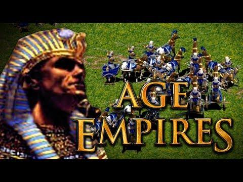JUGANDO con EGIPTO | AGE OF EMPIRES (1997)