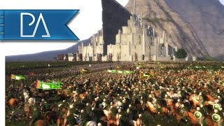 Siege of Minas Tirith: Battle of Pelennor Fields - Third Age Total War Mod Gameplay