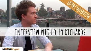 Language immersion tips - Interview with Olly Richards