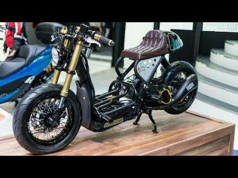 Motor Modifikasi Terkini Modifikasi Motor Matic Chopper