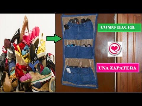 Como hacer una zapatera reciclaje todo en uno youtube - Como hacer una claraboya ...