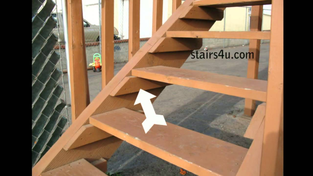 What Is A Wood Cleat Stair Building Parts Youtube