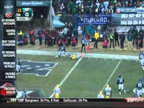 ESPN - The Blitz - Green Bay Packers at Philadelphia Eagles Highlights 1-9-2011