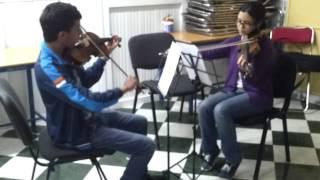 Béla Bartok - 44 duos pour deux violons :