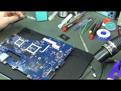 Acer E1-731G не включается. Ремонт для подписчика.