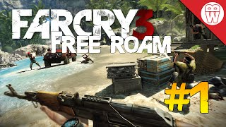 Far Cry 3 Free Roam #1 - Outpost Liberation (Far Cry 4 Hype)