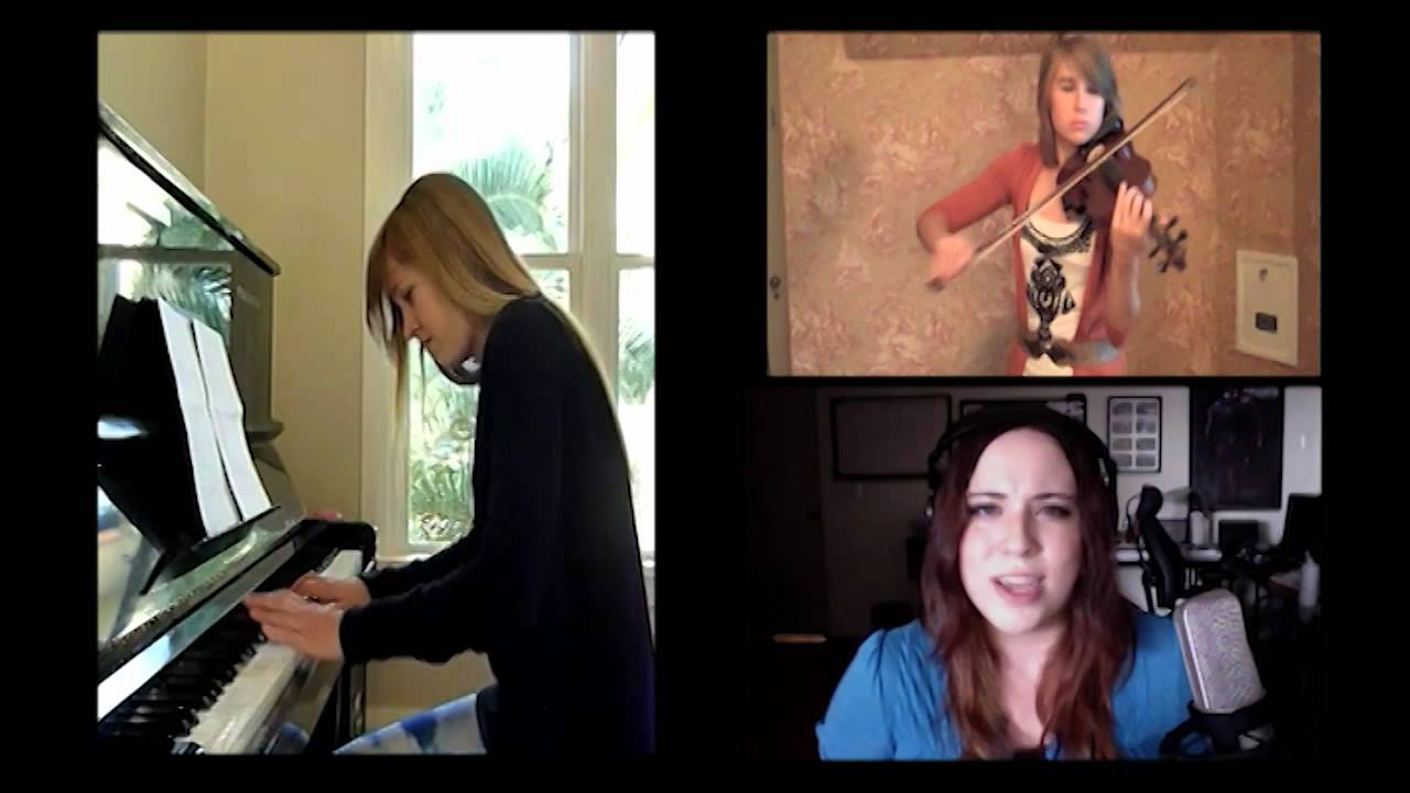 Lara, Taylor and Malukah play 'Fear Not This Night' from Guild Wars 2