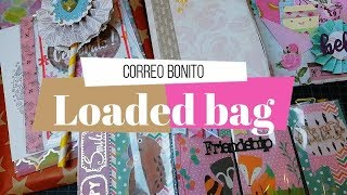 Correo bonito | Loaded Bag, Cartera y Mini Pocket Letter | Yoltzin handmade