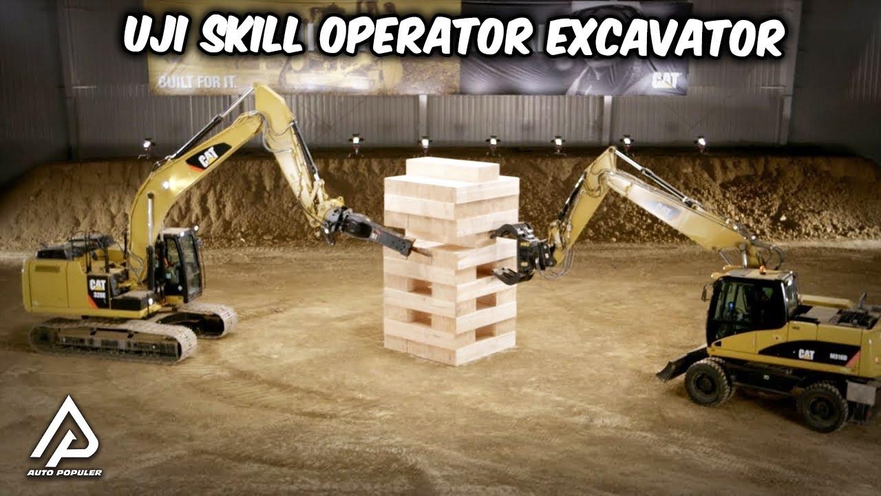 Ketika Skill Sopir Excavator level dewa menunjukkan kemampuannya