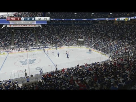 NHL 17: Montreal Canadiens Vs Toronto Maple Leafs – 1st Period