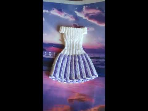 Вязаные вещи крючком для куклы барби