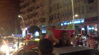 Gambar cover Turkish protesters in Antalya