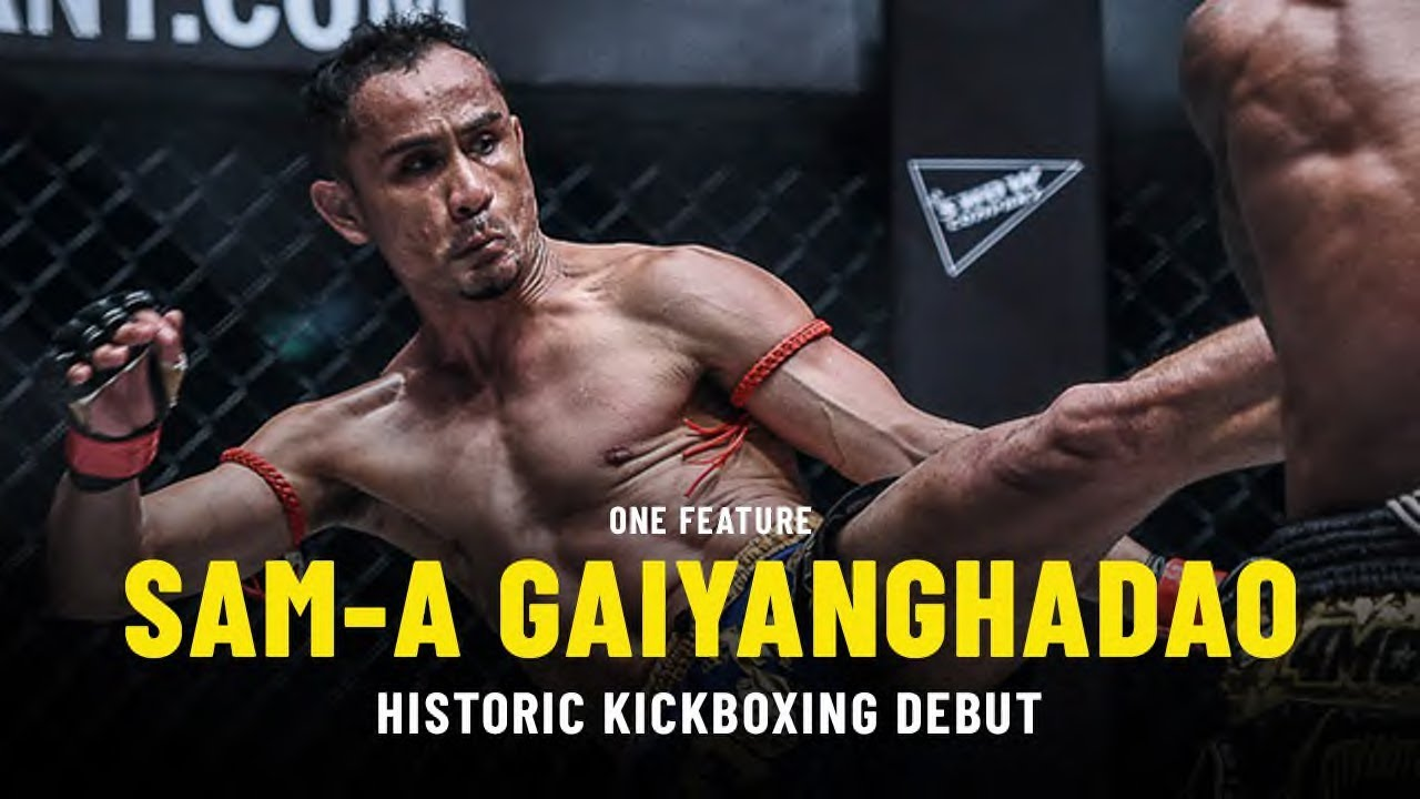 Sam-A's Historic Kickboxing Debut | ONE Feature