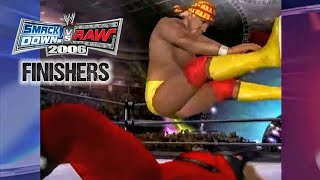 WWE SmackDown! vs Raw 2006 - Legend Finishers & Signature Moves