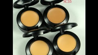Review: Mac studio finish concealer review NC35 A+