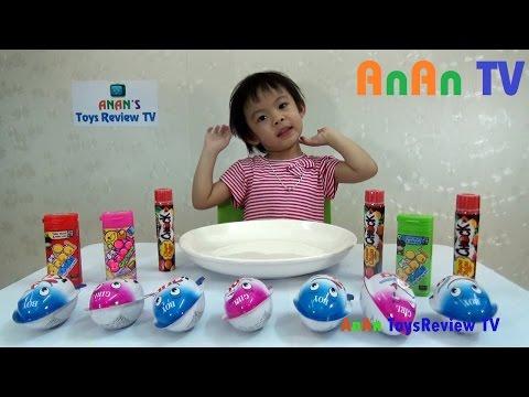 Trò chơi bóc trứng Socola - Bóc kẹo trứng Socola - Surprise Chocolate eggs