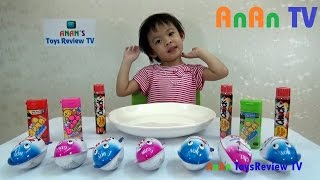Surprise Chocolate Eggs Unboxing King Eggs ❤ Anan ToysReview TV ❤