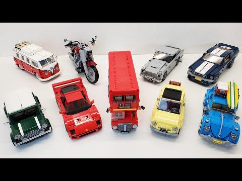 LEGO Creator Expert Vehicles Ranked