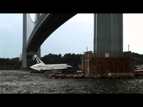 Spaceship Enterprise Barges Into Bayonne | Video