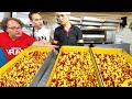 Street Food in Iran - INSANE 10,000 Person FACTORY Tour + BEST Iranian Food in Tehran, Iran!!!