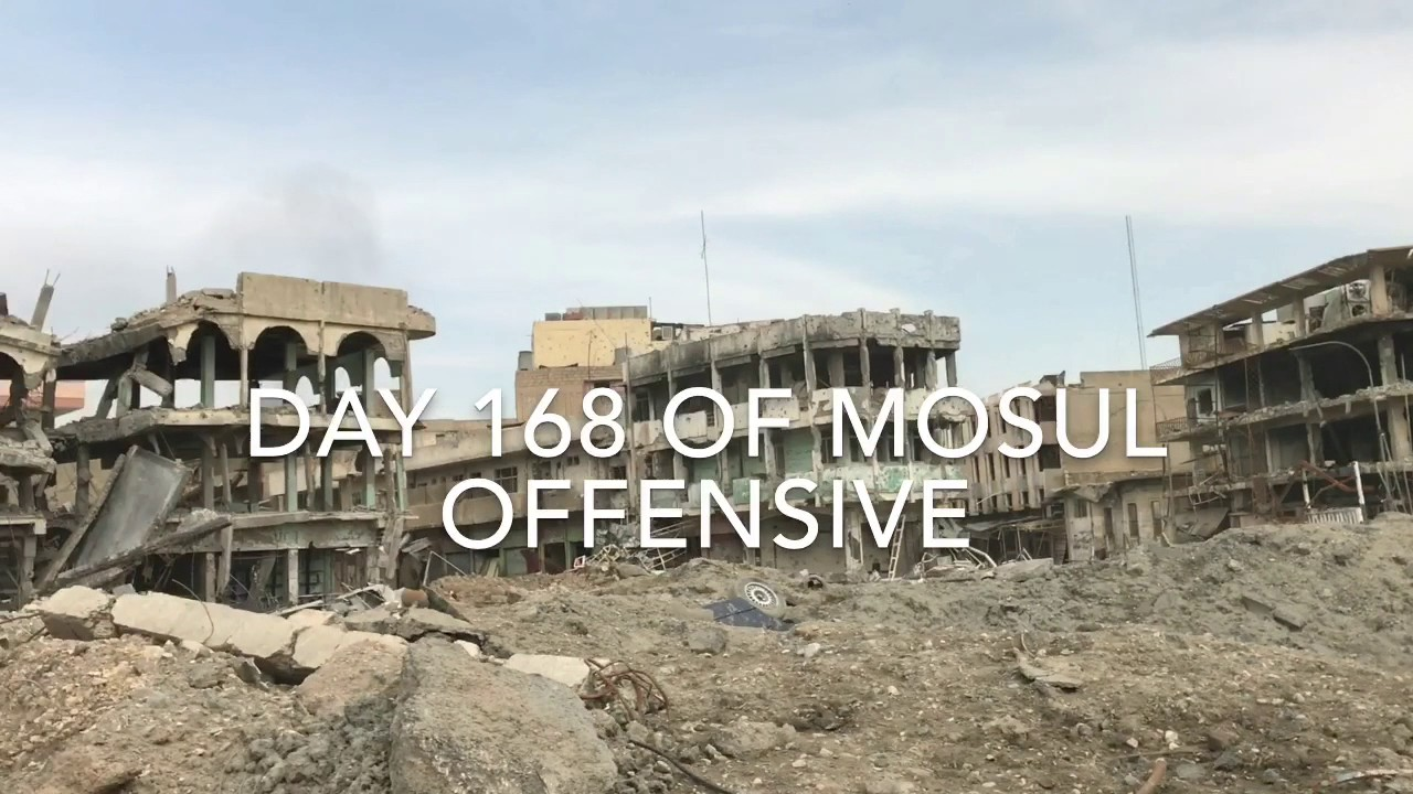 Day 168: The Battle for Mosul