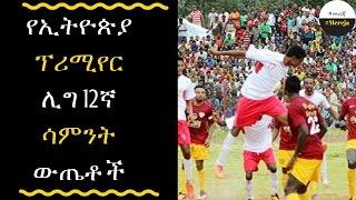 ETHIOPIA - Ethiopia primier round 12 results