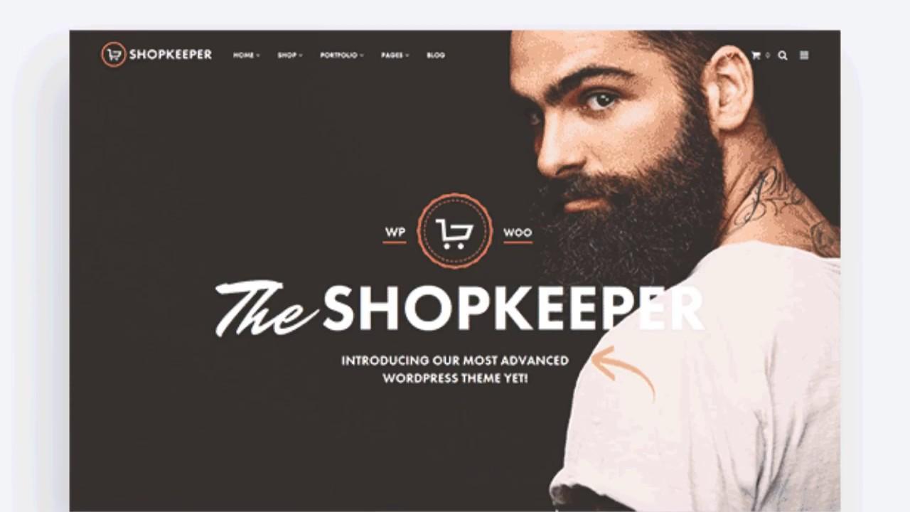 Shopkeeper - theme wordpress premium free download