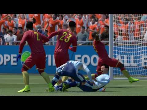 FIFA 17 FUT - Division 8 - Bronze Arabs vs 5 stars team