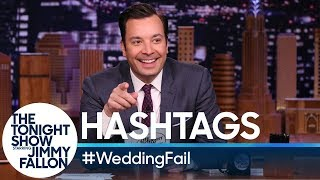 Hashtags: #WeddingFail