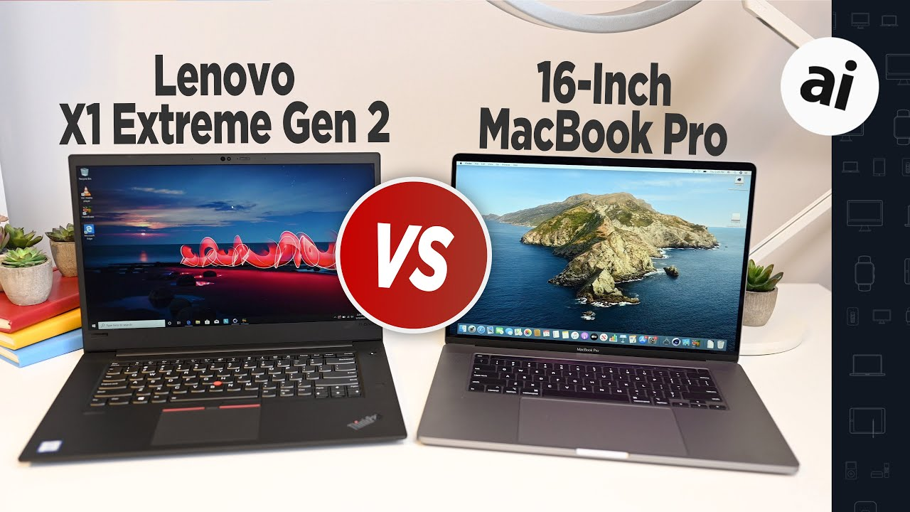 Compared: 16-Inch MacBook Pro VS Lenovo X1 Extreme Gen 2!