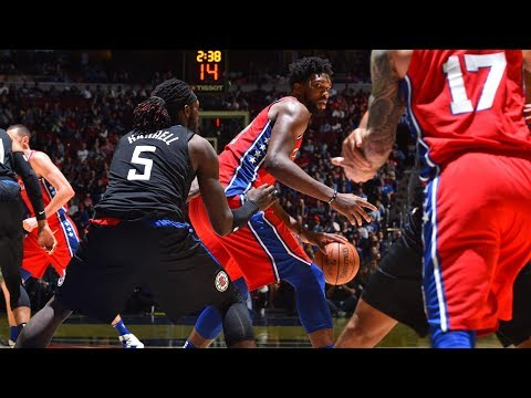 NBA Los Angeles Clippers vs Philadelphia 76ers   Nov 1,  2018