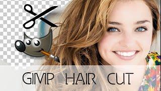 Corte de cabelo perfeito com o GIMP (Hair Cut)