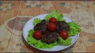Домашние видео рецепты - котлеты из индейки с геркулесом в мультиварке