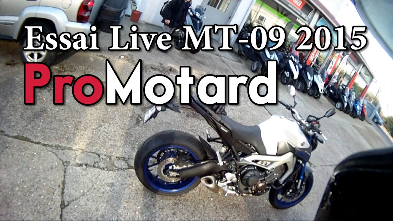 essai live yamaha mt 09 2015 race blu youtube. Black Bedroom Furniture Sets. Home Design Ideas