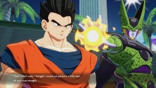 DRAGON BALL FIGHTERZ All Perfect Cell Banter & Scenes