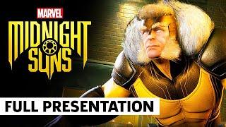 Marvel's Midnight Suns Gameplay Showcase Full Presentation