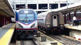 Railfanning MBTA & Amtrak in Boston, MA