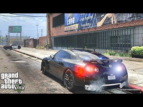 GTA 5 MODS LSPDFR 872 - GTR HIGHWAY PATROL!!! (GTA 5 REAL LIFE PC MOD)