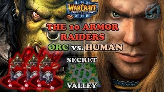 Grubby | Warcraft 3 The Frozen Throne | ORC v HU - The 10 Armor Raiders - Secret Valley