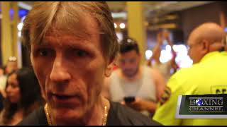 Glenn Rushton Says Terence Crawford is Just a Man not a God