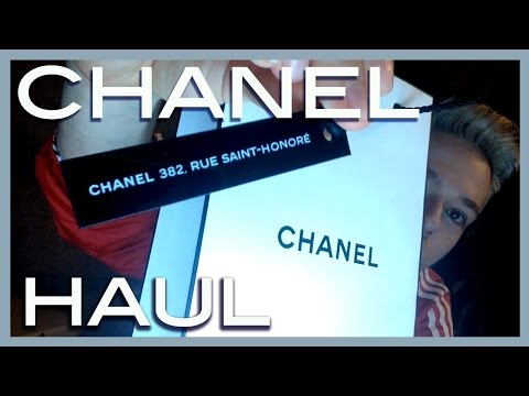 haul CHANEL beauty boutique 382, Rue Saint-Honore