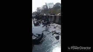 horrific accident in belgaum NH4 highway
